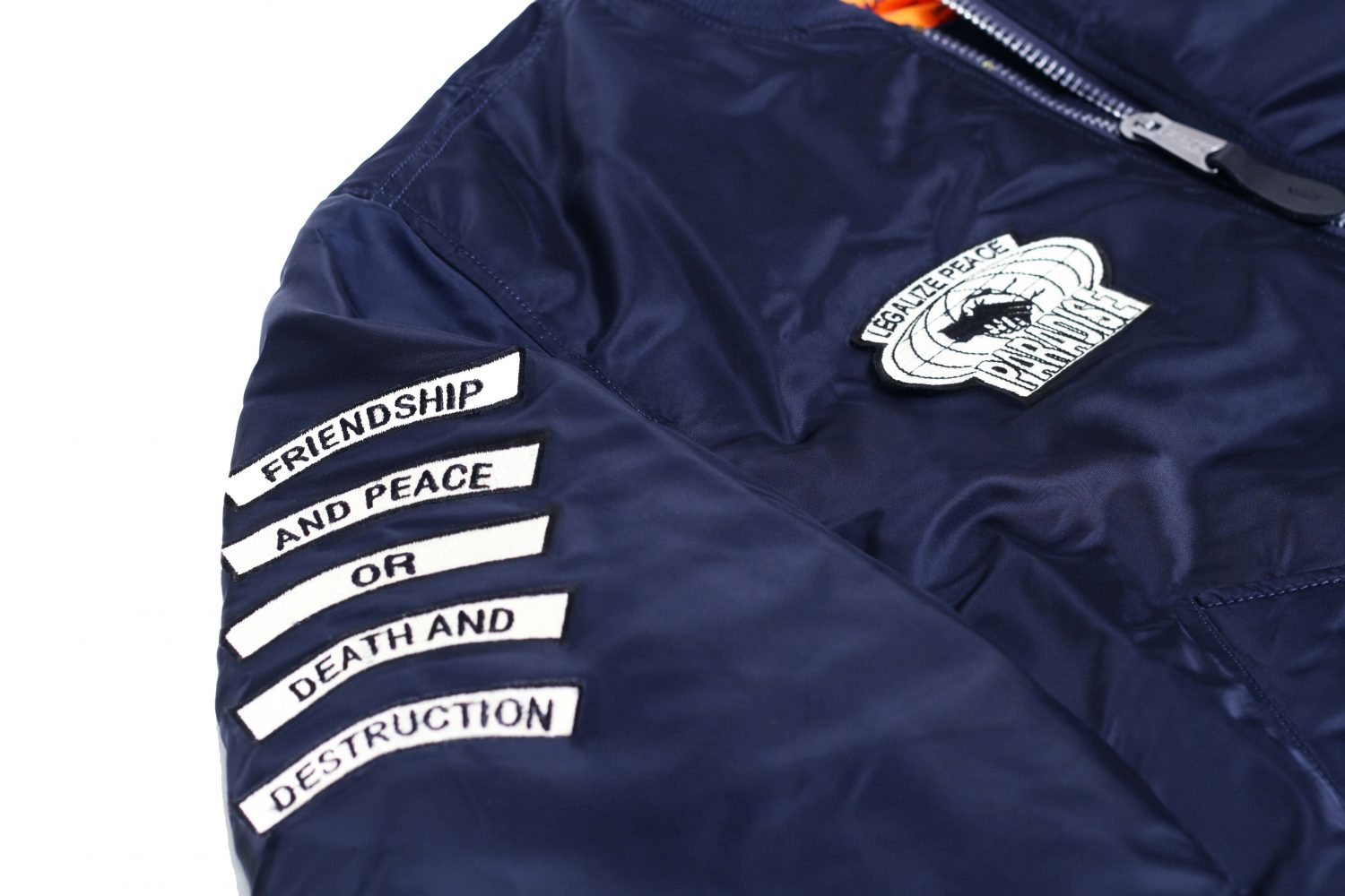 PARADISE YOUTH – ALPHA INDUSTRIES FOR HIDE STORE KOREA – 5