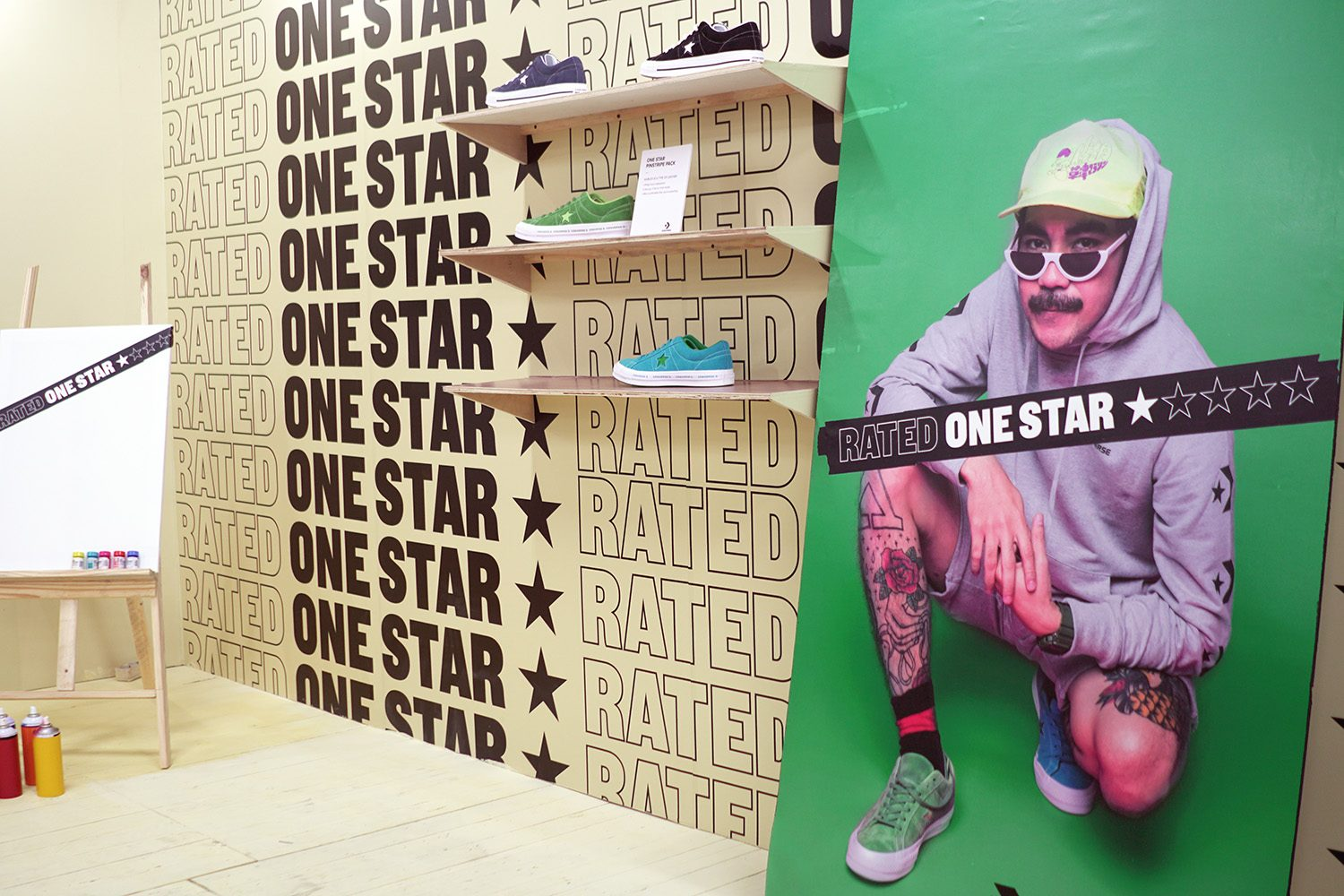 Converse Rated One Star Neighbourlist 5
