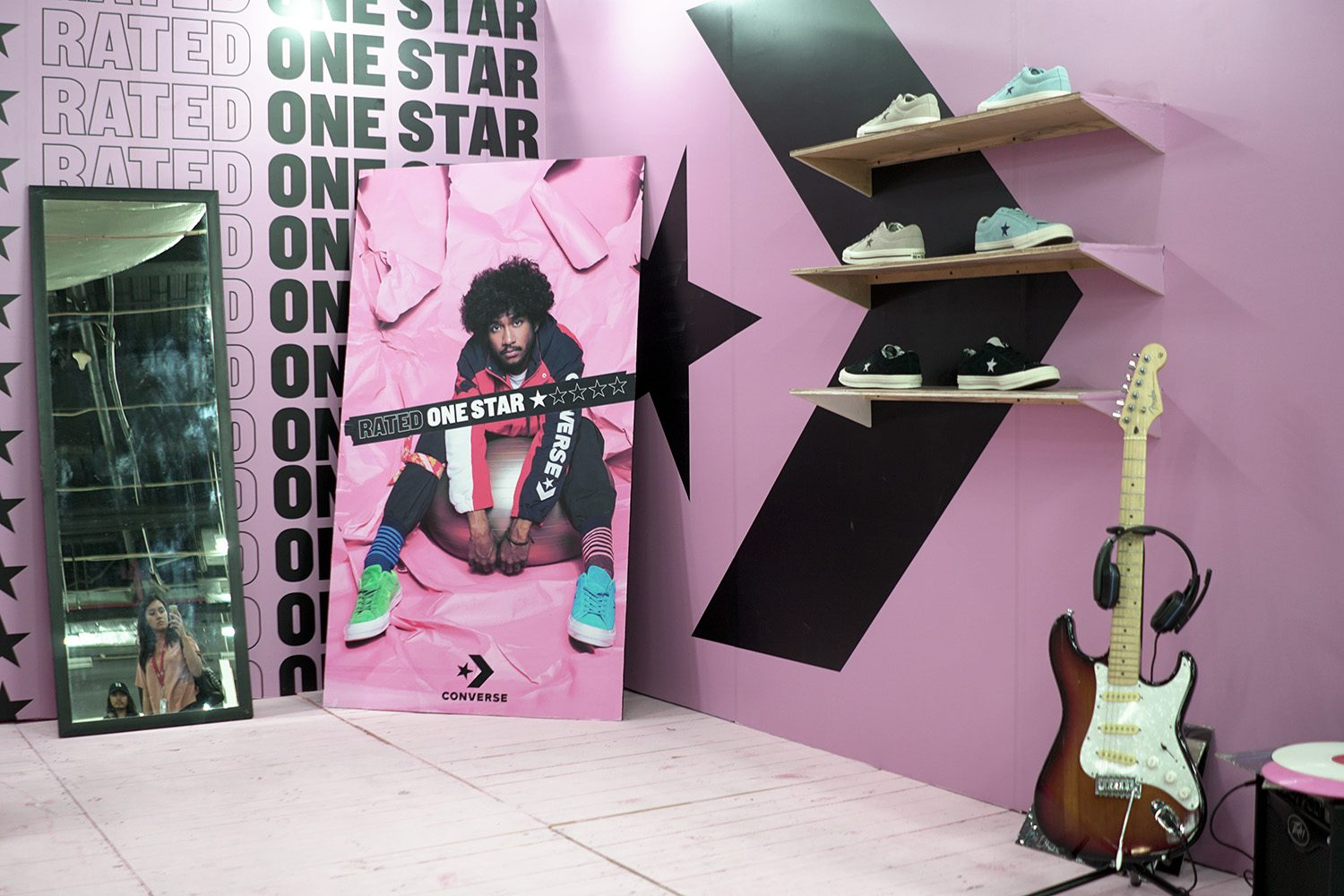 Converse Rated One Star Neighbourlist 8