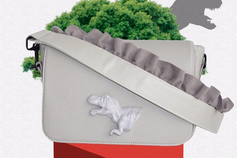 MANNEQUIN PLASTIC DINO FLAP BAG 3