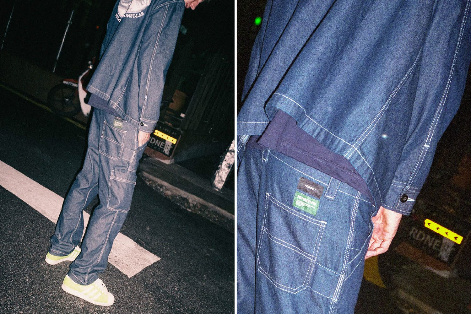 PMP DENIM X AGAINST LAB CHAOS STANDARD 1