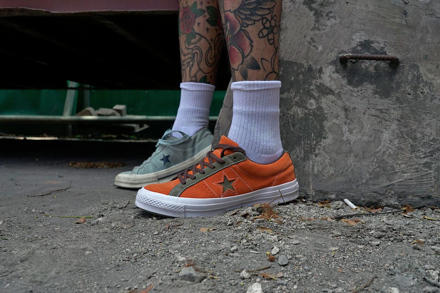RATE THE CITY CONVERSE ONE STAR 1