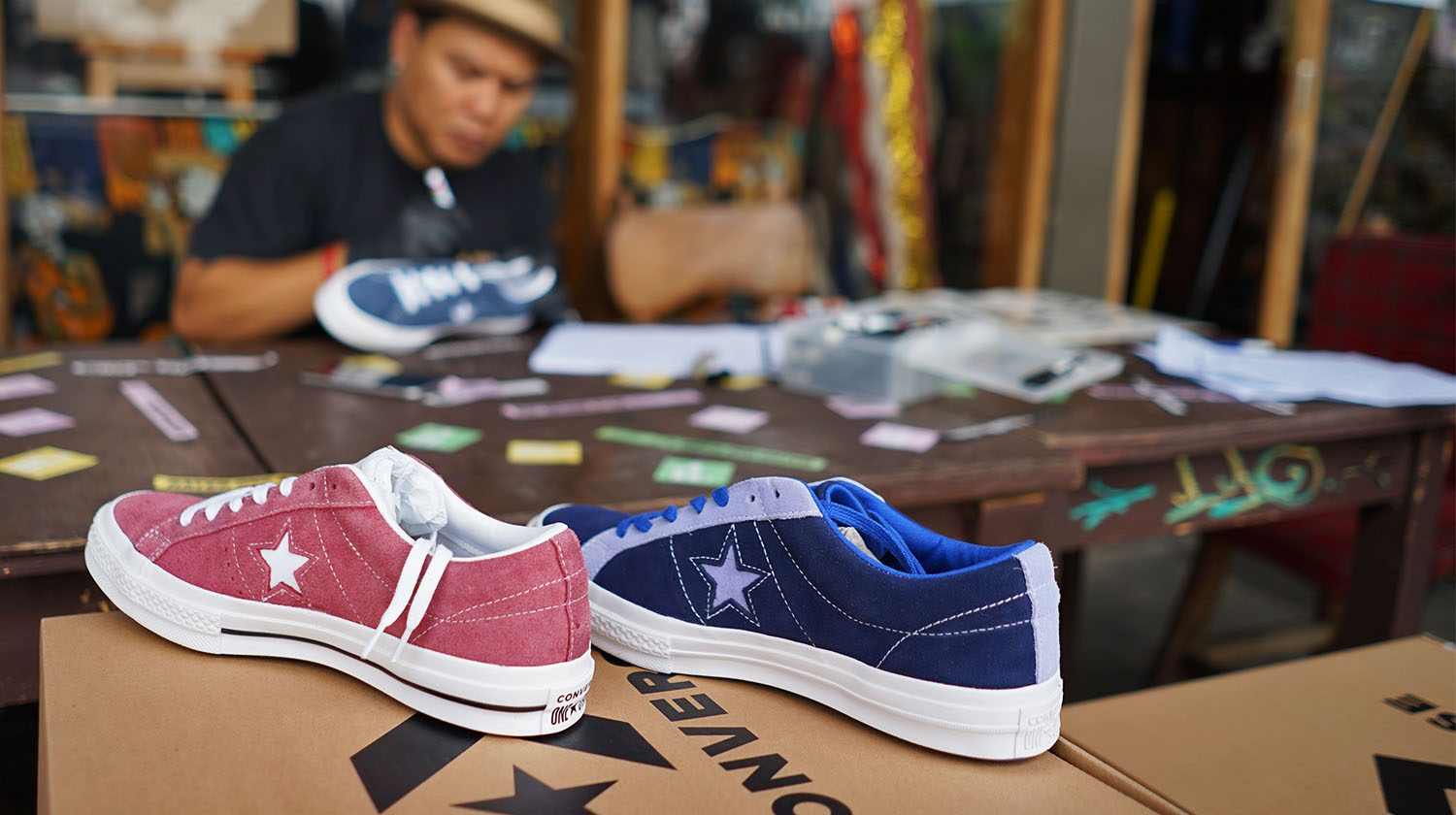 CONVERSE X PROJECT 4
