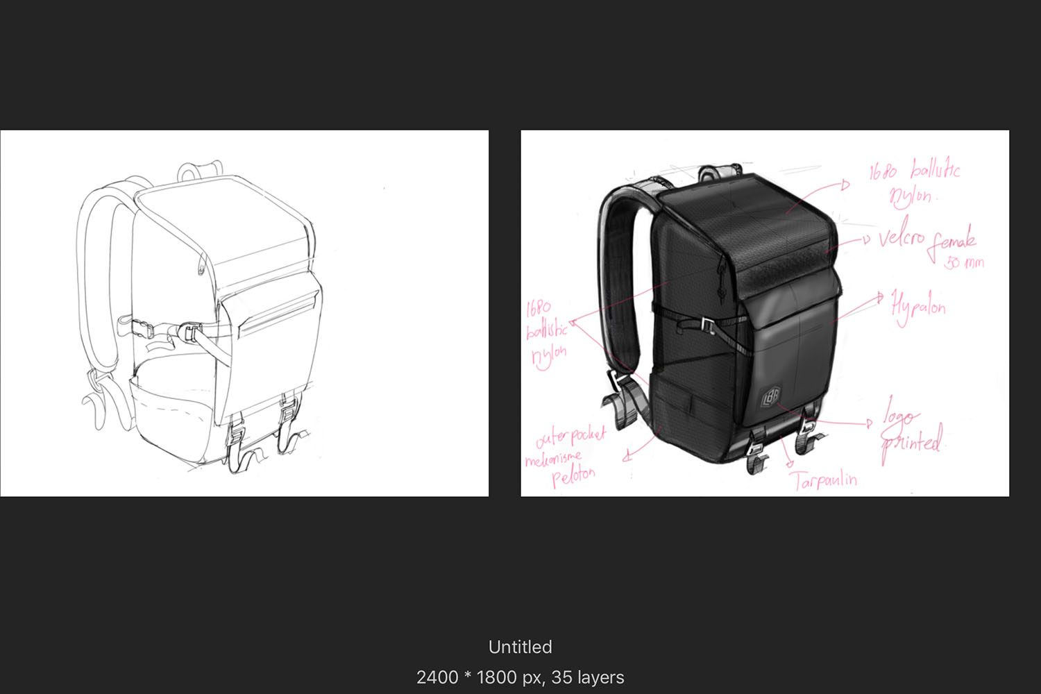 LBB CAMERA BAG SERIES 1