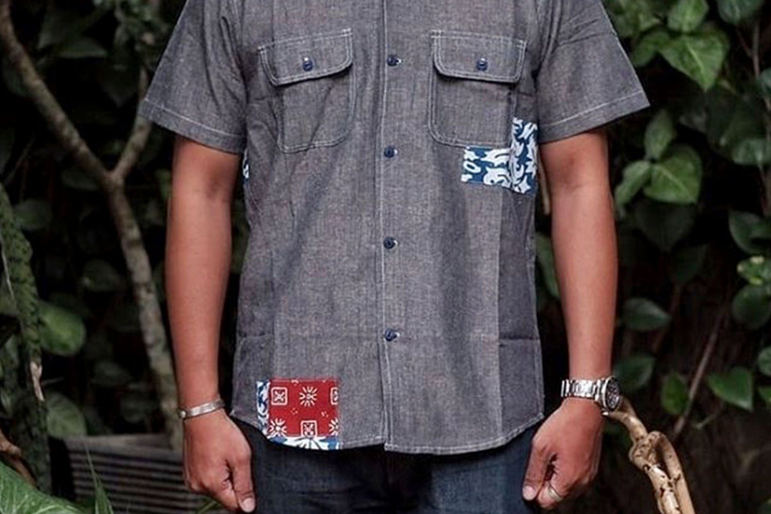 NBDN DENIM CHAMBRAY SHIRT 6
