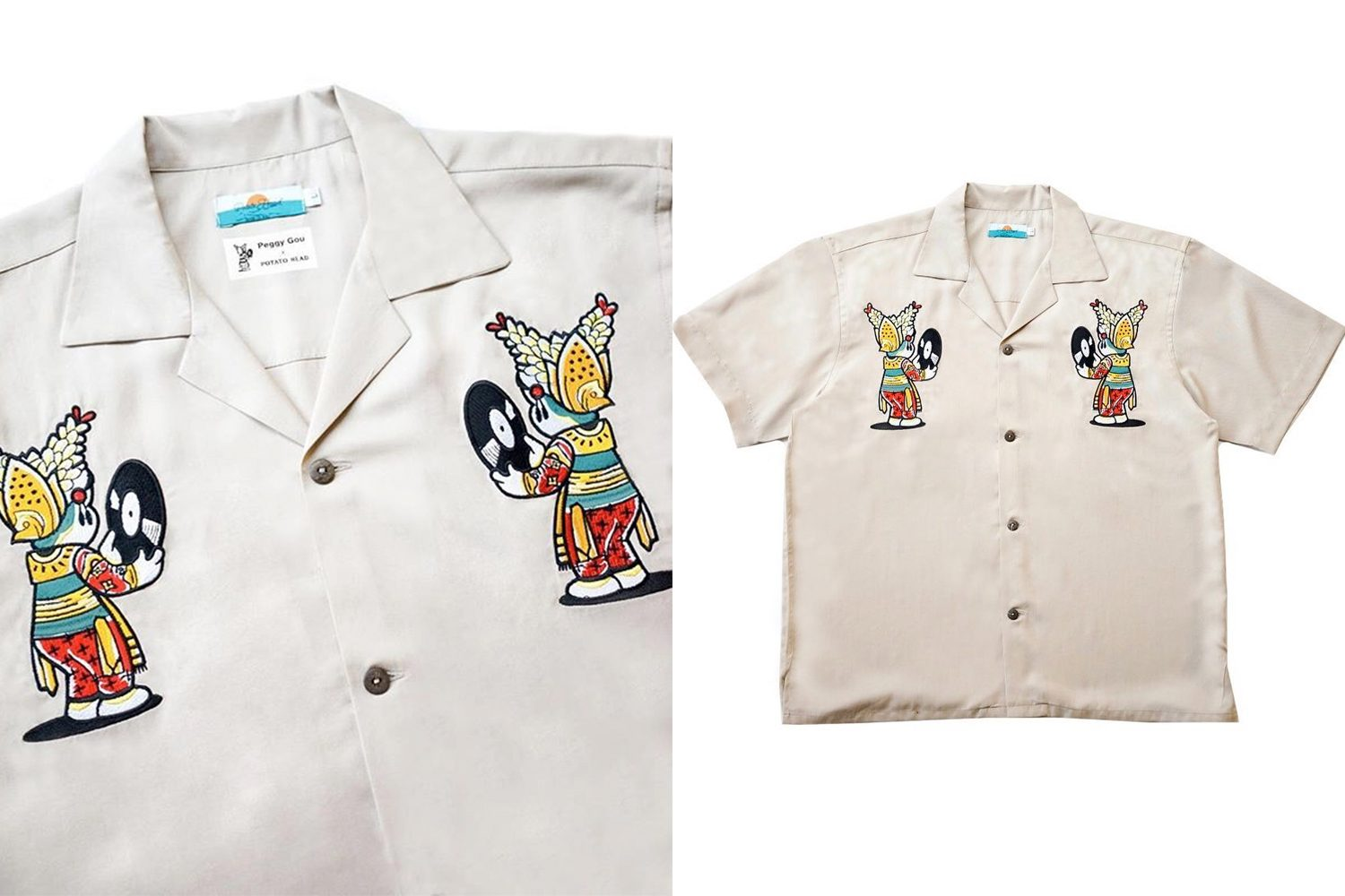 POTATO HEAD BALI X PEGGY GOU HAWAIIAN SHIRT 2