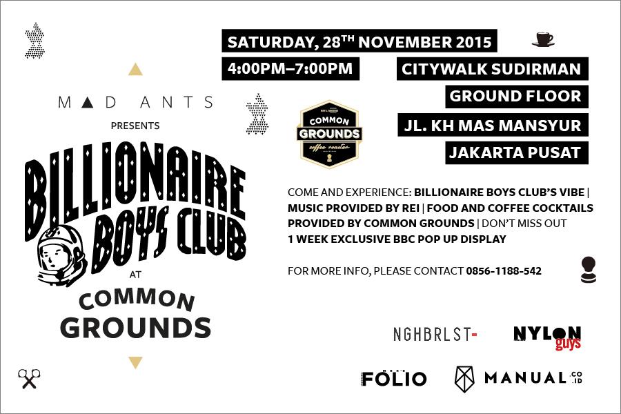 Mad Ants Billionaire Boys Club Neighbourlist