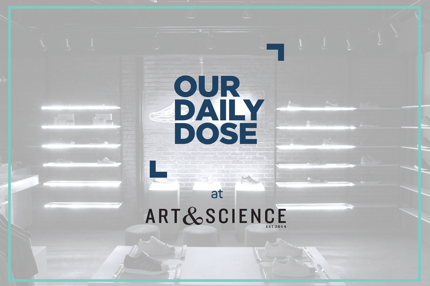 Our Daily Dose Pop-Up store at Art & Science Grand Indonesia