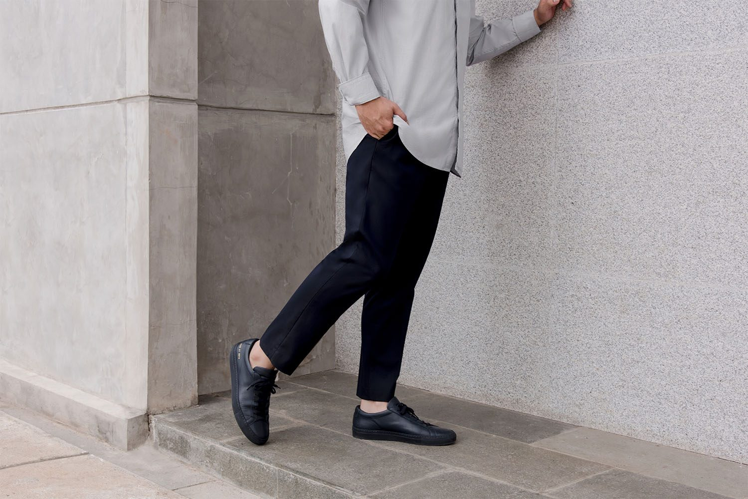 NHBL X UNIQLO DIMAS INDRO ANKLE DETAILS