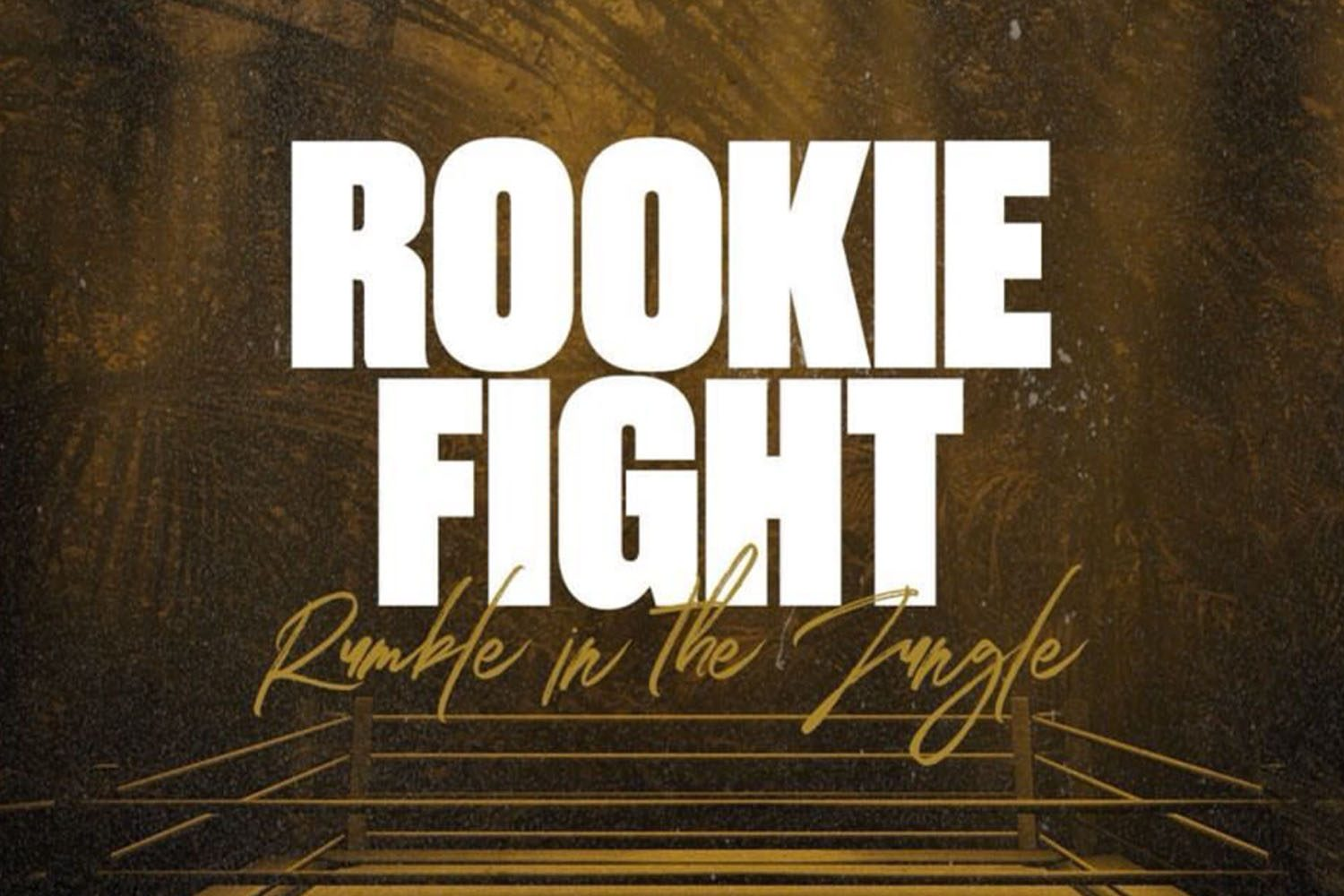 HAWKEYE FIGHTWEAR ROOKIE NIGHT RUMBLE IN THE JUNGLE THUMBNAIL
