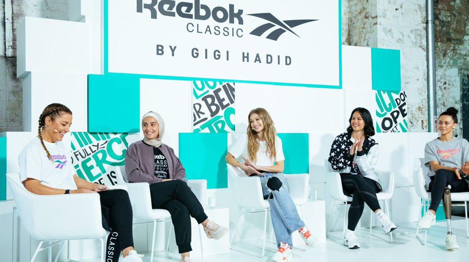 REEBOK X GIGI HADID CAPSULE COLLECTION THUMBNAIL